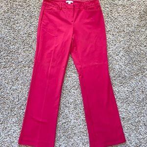 New York & Company Raspberry Dress Pants